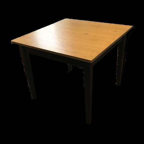 Selency Table carrée de salle à manger