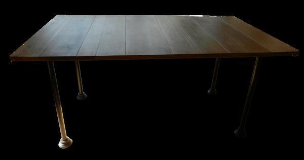 Table de sam, avec rallonges
