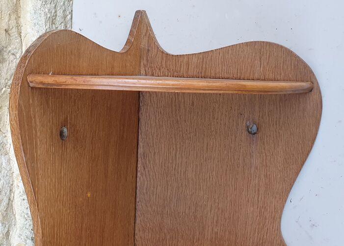 Etagère d'angle en bois