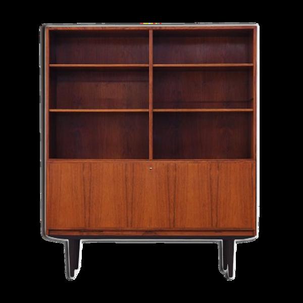 Selency Bibliothèque en bois de rose design danoi, années 1970, réalisé par Omann Jun