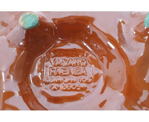 Vasaro Faenza vintage trinket bowl