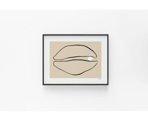 Pearl — giclée print