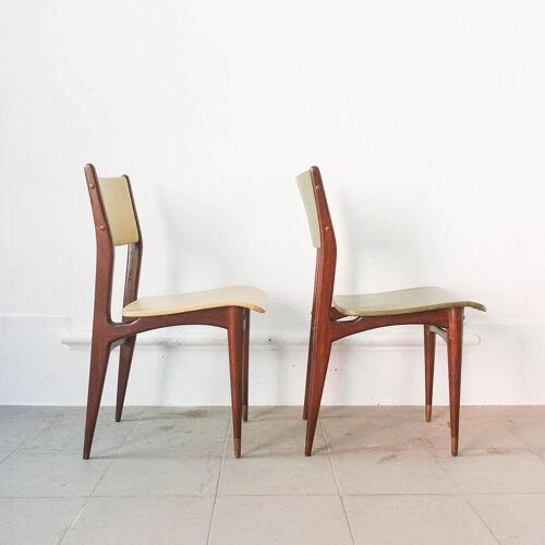 Ensemble de 6 chaises à manger par altamira, années 1950