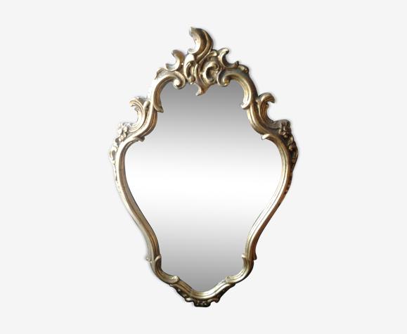 Miroir style florentin rocaille 42x69cm