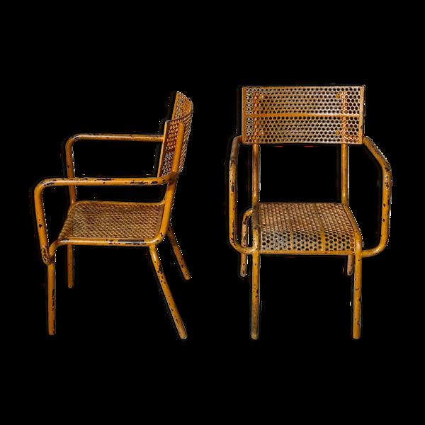 Selency Paire de fauteuils René Malaval