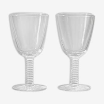 Set de 2 verres à pieds
