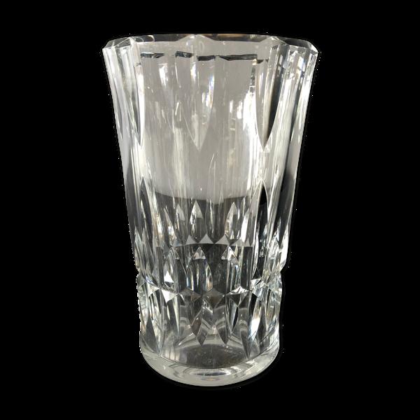 Vase en cristal Baccarat H25cm