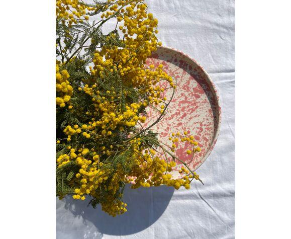 Présentoir à gâteau en céramique Taormina