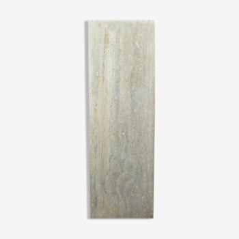 Natural travertine column