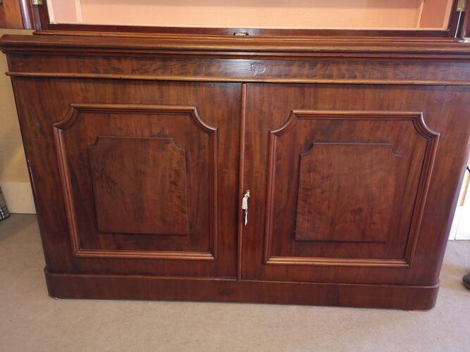 Bibliothèque anglaise deux portes