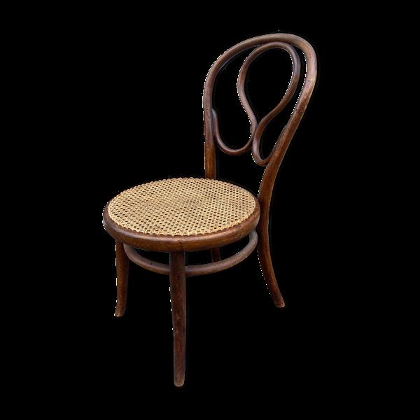 Chaise de nourrice bois courbé Thonet Oméga