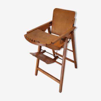 Vintage high folding chair