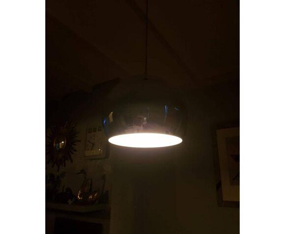 Lampe pendentif chromée Hala Zeist, 90s