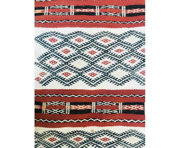 Tapis kilim berbère 128x81cm