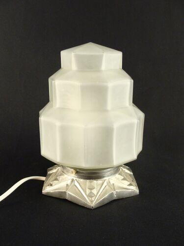 Lampe de table building art déco