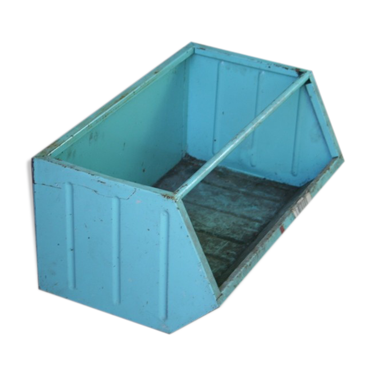 Bac à bec casier de rangement empilable métallique 1950