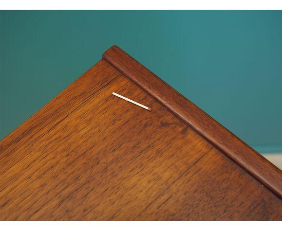 Bibliothèque en teck design danois années 70 production: farsø møbelfabrik