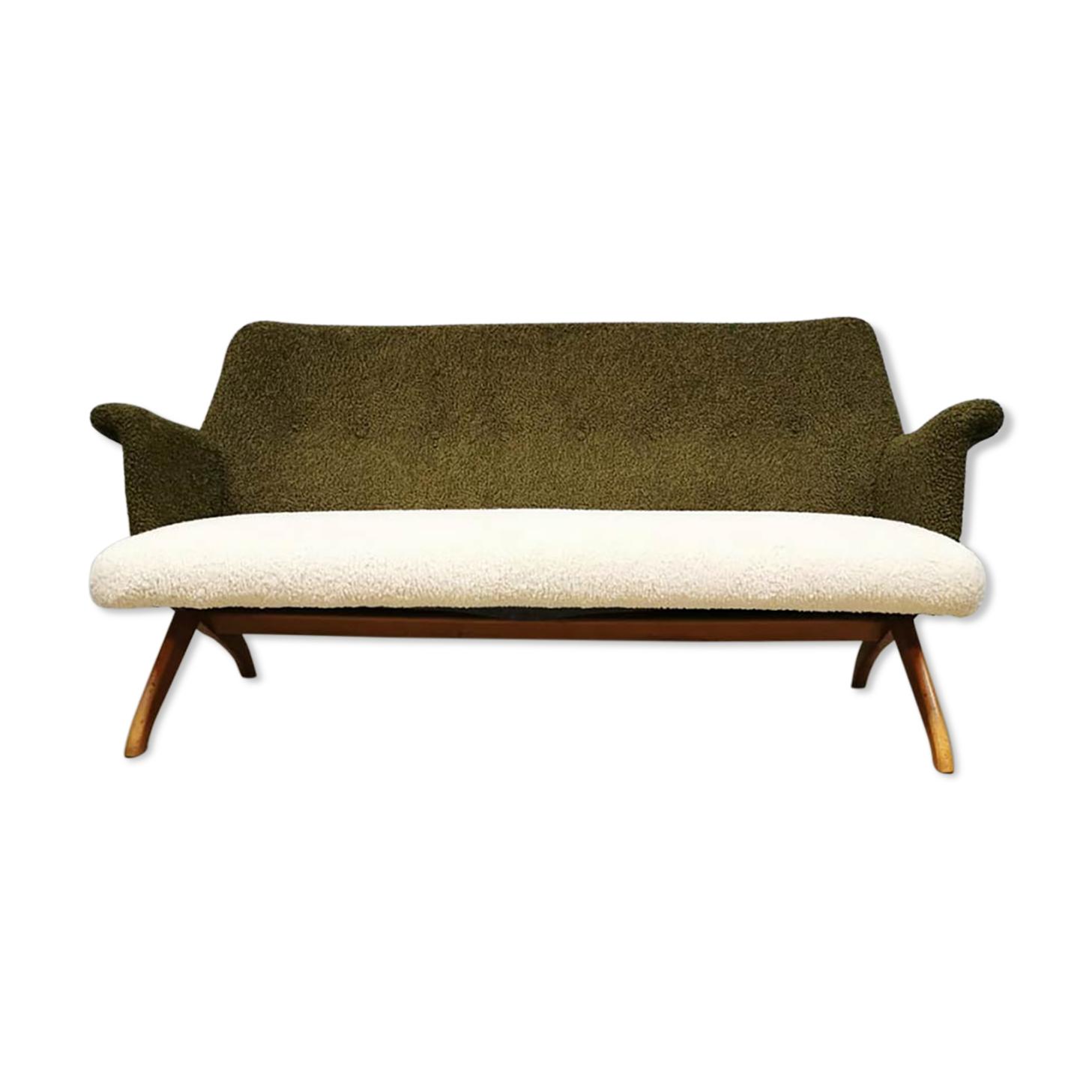Canapé vintage du milieu du siècle Theo Ruth Artifort