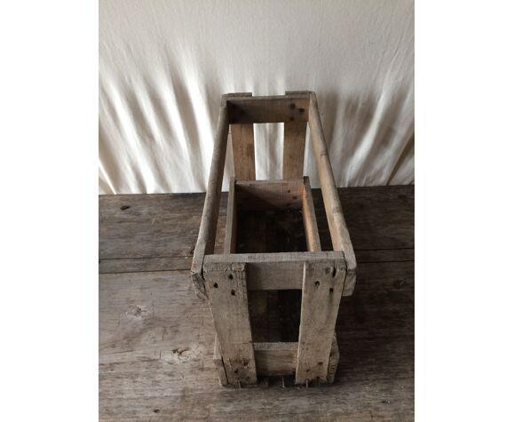 Former caisse casier porte bottle wood
