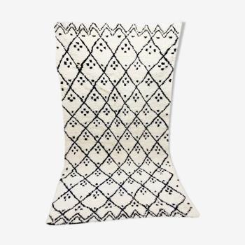 Tapis marocain en laine berbère 253 x 142cm