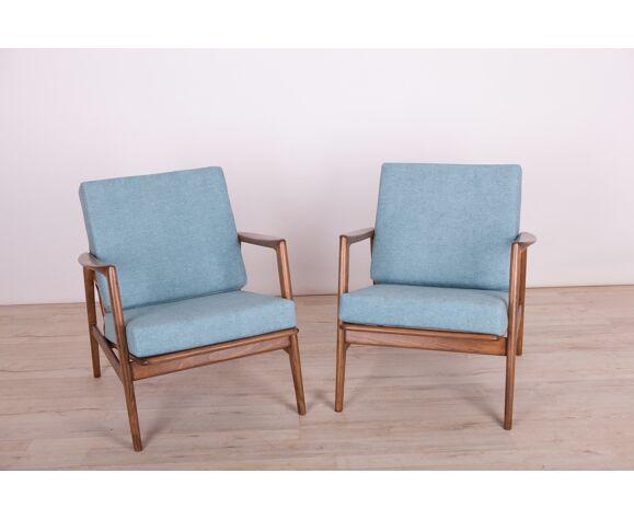 Paire de fauteuils Swarzędzka Furniture Factory