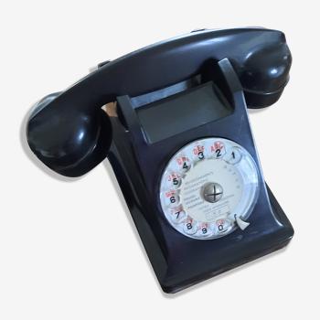 Téléphone u43 bakélite vintage