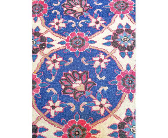 Tapis d'orient fait main vintage persan Veramine 145 x 102