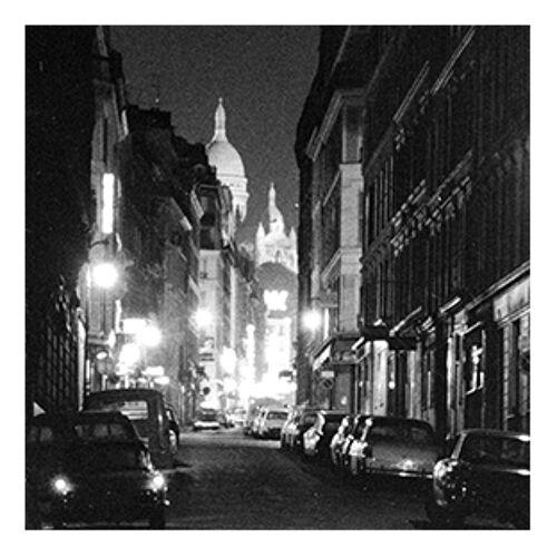Photographie vintage rue Pigalle Paris 1965