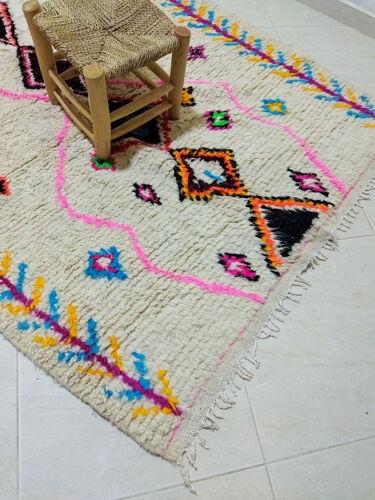 Tapis berbère coloré 243 x 145 cm