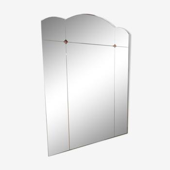 Miroir art déco 79x112cm