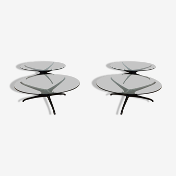 Tables tris symétriques du milieu du siècle
