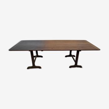 Table de vendange ancienne 1900 -2m60