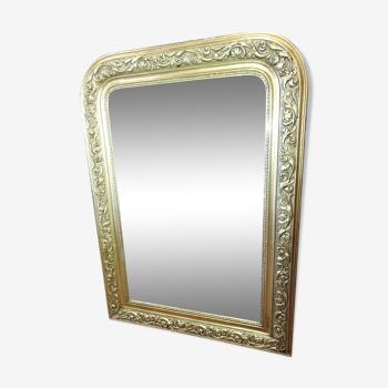 Miroir doré style Louis Philippe - 105x74cm
