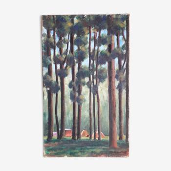 Old painting by pierre zenobel
