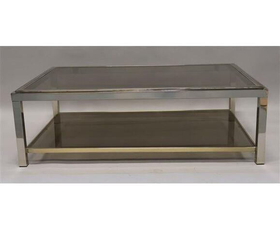 Table basse Belgo Chrom