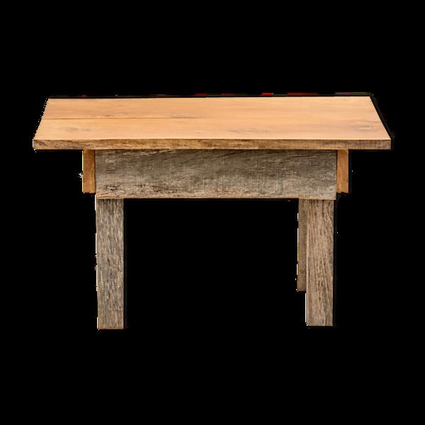 Table d'appoint oak et acacia