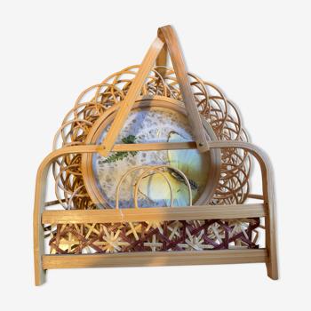 Dessous de verres bambou