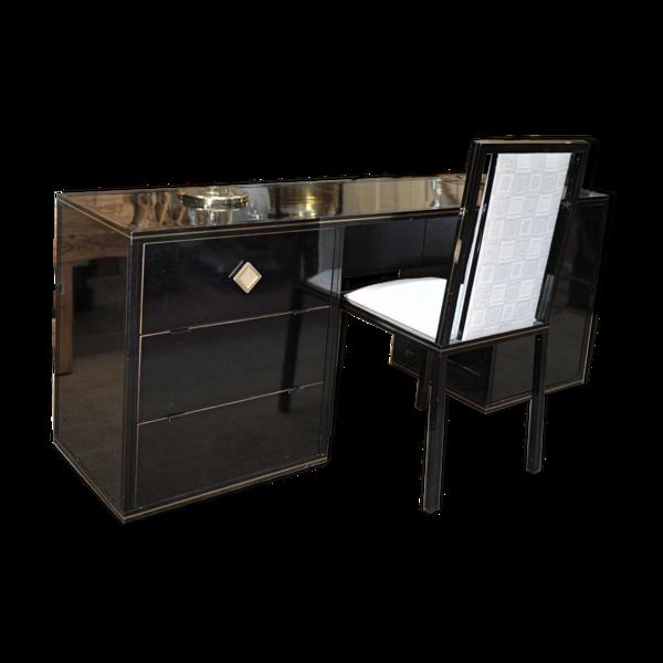 Bureau et chaise Pierre Vandel Paris des années 1970