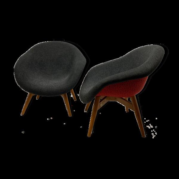 Selency Paire de fauteuils Miroslav Navratil