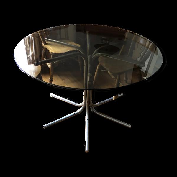 Table vintage design année 1970