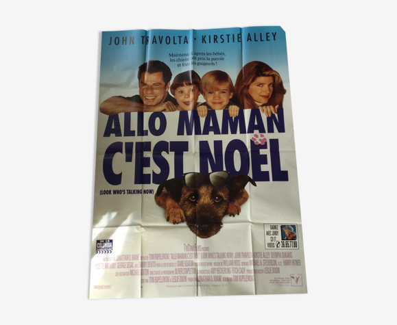 "Affiche du film "" Allo Maman c' est noel """