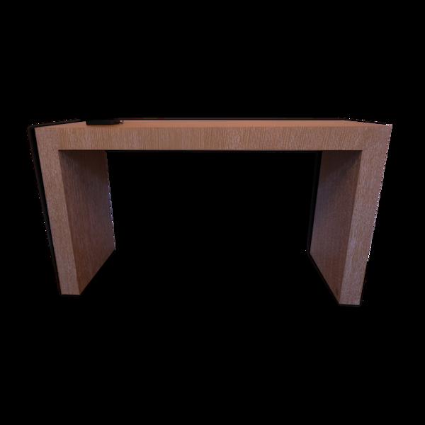Console en bois cérusé