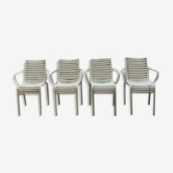 Lot de chaises design Philippe Starck
