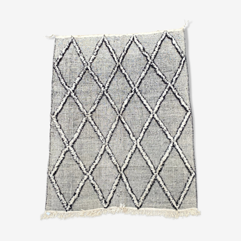 Tapis berbere kilim en laine 200x290 cm