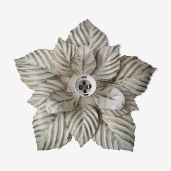 Plafonnier ou applique fleur