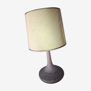 Lampe vintage en grés