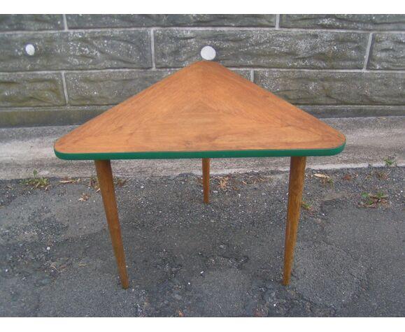 Triangular side table