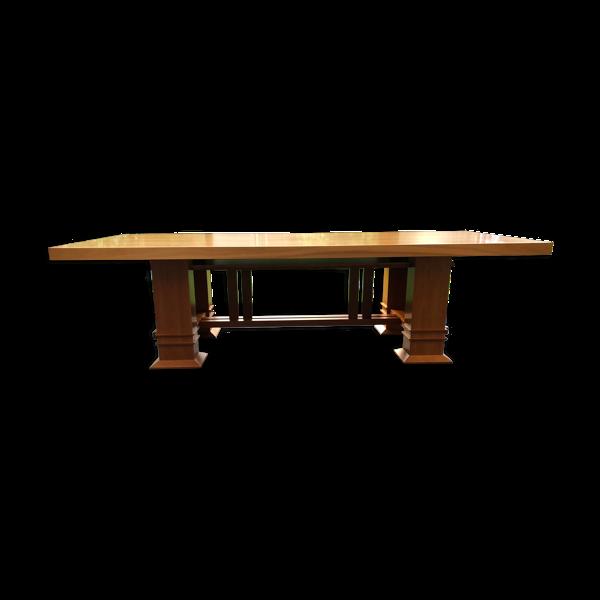 Table Allen 605 par Frank Lloyd Wright pour Cassina