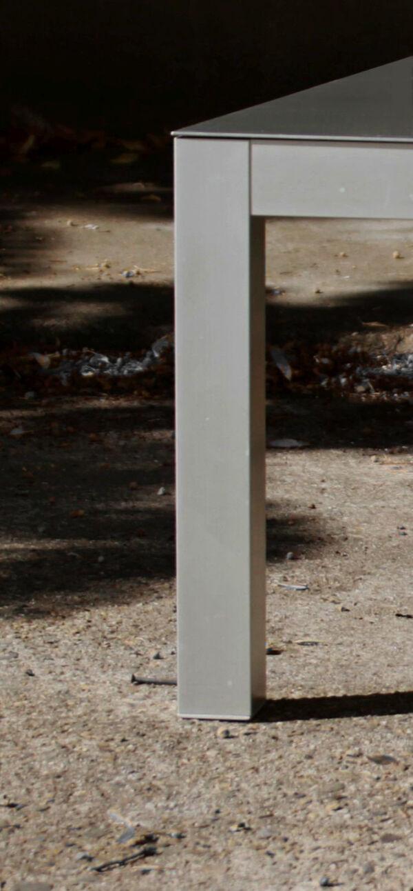 Table basse en aluminium, MDF Italia