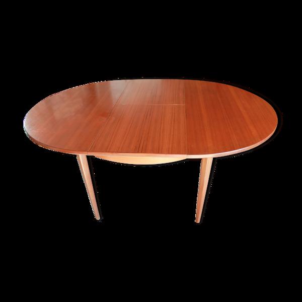 Table ronde - bois - circa 1960